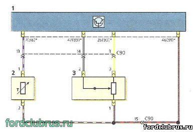 Схема электровентилятора газели