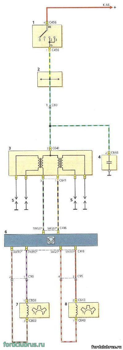 Схема кондиционирования форд фокус 2 фото 136