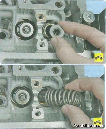 Замена маслосъемных колпачков форд фокус 2 двигатель 20 своими руками