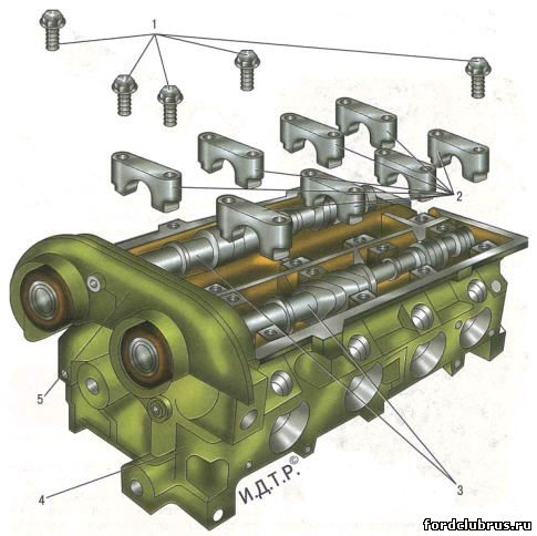 Распределительные валы двигателя 1,6 л Duratec Ti-VCT