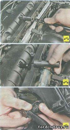 Очистка системы вентиляции картера Форд Фокус 3