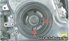 Установка поршня первого цилиндра в положение ВМТ такта сжатия Форд Фокус 3
