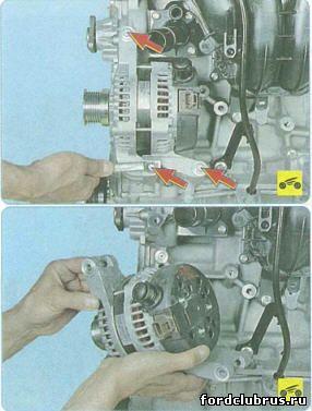 Снятие генератора Форд Фокус 3