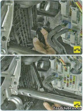 Замена салонного фильтра Форд Фокус 3