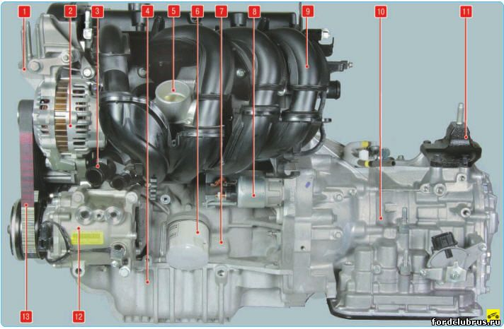 Двигатели Форд мондео, Особенности конструкции