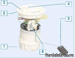 Топливный модуль Фокус 2