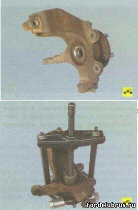 Замена подшипника передней ступицы Фокус 2