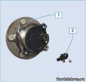 Ступичный узел заднего колеса Фокус 2