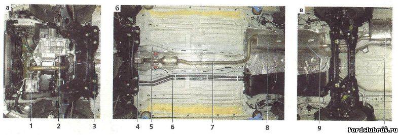 Система выпуска отработавших газов Форд Фокус 1