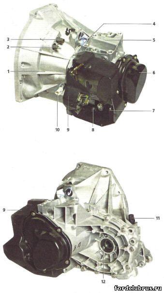 Механическая коробка передач Фокус 1