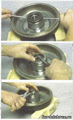 Замена подшипника ступицы Форд Фокус 1