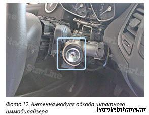 Точки подключения форд Фиеста